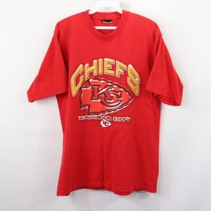 Vintage Kansas City Chiefs Spell Out T-Shirt Red